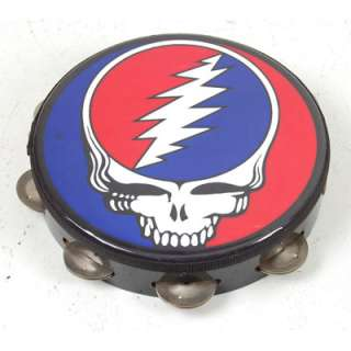 Grateful Dead Steal Your Face PROMO ONLY USA REMO Tambourine