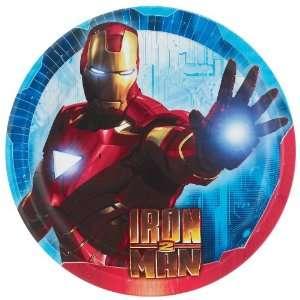 Iron Man 2 Dinner Plates
