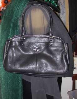 NWT Coach Penelope Black Leather Satchel Bag Handbag Purse F16529 $428
