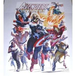 Promo PosterCaptain America/Spider man/Iron Man/Submariner/Ms Marvel