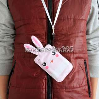 For Iphone 4S 4G 3G 3GS 2G Cell Phone Rabbit Case Pouch Bag Cover