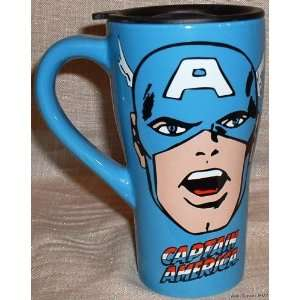 Marvel Comics CAPTAIN AMERICA 16oz Ceramic Travel MUG