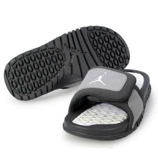 NIKE JORDAN HYDRO 2 (PS) LITTLE KIDS Size 12 Wolf Grey Shoes