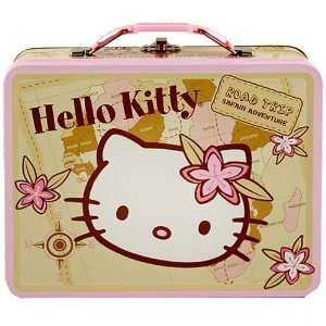 Hello Kitty Tin Lunch Box [Road Trip   Safari Adventure] Toys & Games