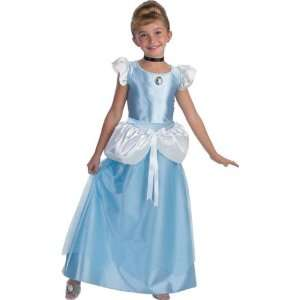 Childs Disney Cinderella Costume (Size:Large 7 10): Toys & Games