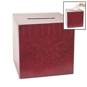 Red On Red Wedding Card Box   Invitations & Stationery