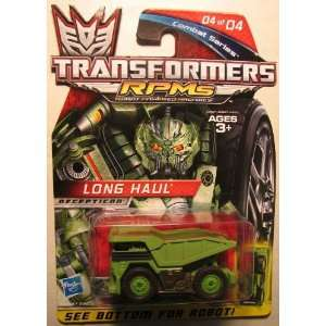 com Transformers RPMS Combat series   04 Long Haul HOR Toys & Games