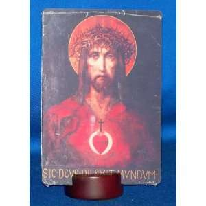 Head of Christ with Thorns / Sacred Heart of Jesus   5 3/4