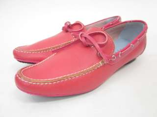 LAMBERTSON TRUEX Pink Leather Driving Shoes 6N IN BOX