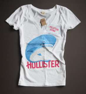 NWT Hollister HCO Bettys Graphic Crew Tee Top T Shirt M