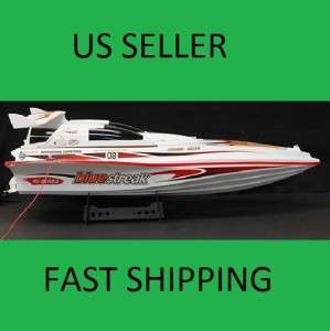 7008 BLUE STREAK MARINE RTR EP RC RACING SPEED BOAT 28