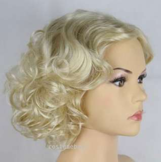 Marilyn Monroe Deluxe Short Bombshell Costume Party Wig