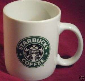 Collectible White Traditional STARBUCKS Ceramic MUG CUP