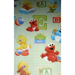 Sesame Street BABY ELMO Gift Wrap Wrapping Paper & Bows   Boy or Girl