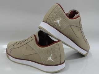 Nike Jordan Sky High Retro Low Khaki White Sneakers Mens Sz 9