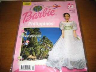 DISCOVER THE WORLD WITH BARBIE COSTUME OUTFIT PHILIPPINES #23 IN