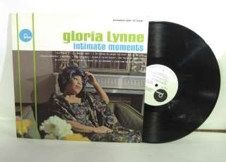 GLORIA LYNNE INTIMATE MOMENTS WHITE LABEL PROMO LP