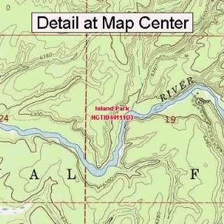 Map   Island Park, Idaho (Folded/Waterproof)