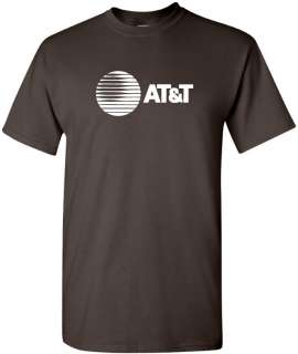 AT&T T shirt 80s Vintage LOGO Funny COOL GEEK Phone TEE