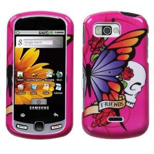 SAMSUNG M900 (Moment) , Best Friend Hot Pink Phone Protector Cover