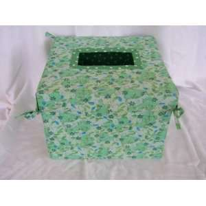 Folding Wedding Card Box Gift Green 1693: Everything Else