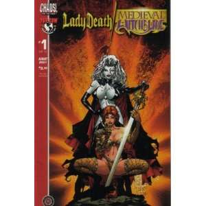 Lady Death Medieval Witchblade Comic Comics August 2001 #1 (Lady