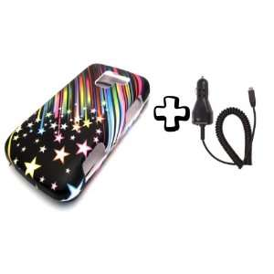 BUNDLE LG Optimus Q Rainbow Shooting + CAR CHARGER Stars