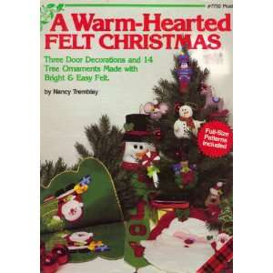Warm Hearted Felt Christmas (3 Door Decorations & 14 Tree Ornaments