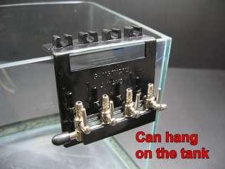 Hang on 4 Way Air Pump Manifold Valve Taps   REMOVABLE