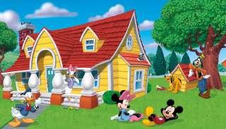 Disney MICKEY MOUSE Nursery Wall Wallpaper Mural Decor