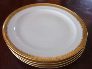 16 Pc Rosenthal Dishes Fine China 24kt Gold Chain White
