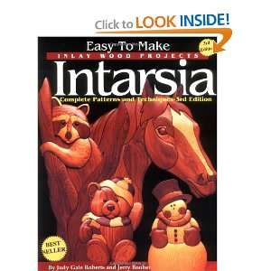 to Make Inlay Wood Projects  Intarsia: A Complete Manual with Patterns