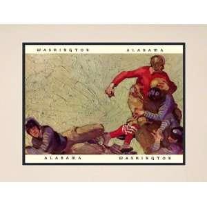 1926 Alabama Crimson Tide vs Washington Huskies 10 1/2 x