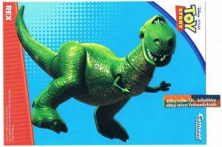 REX Dinosaur Toy Story Fathead Mini compare Buzz Woody