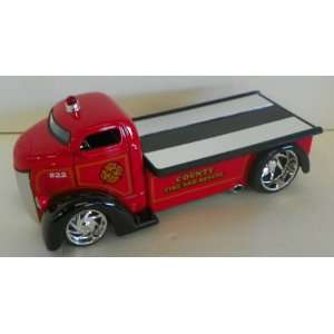 : Jada Toys 1/24 Scale Diecast Heat Series 1947 Ford Coe County Fire