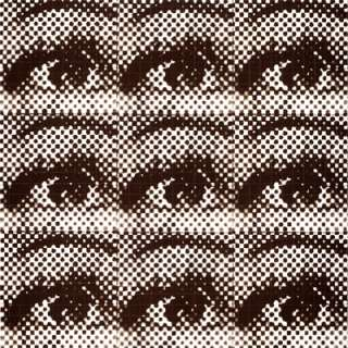 LSD Blotter Art Print eyeandeye Martin Atkins PigFace