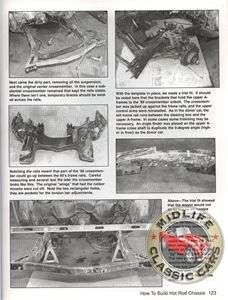 HOW TO BUILD HOT ROD RAT ROD CHASSIS TEX SMITH FORD GM