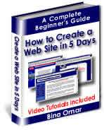Website Design Software & Web Video Tutorials DVD