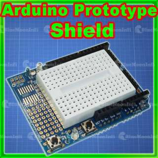 Arduino Prototype Shield ProtoShield with Breadboard