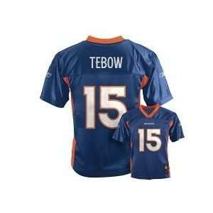 Tim Tebow Denver Broncos Reebok Youth Jersey Size L 14 16 Large Kids