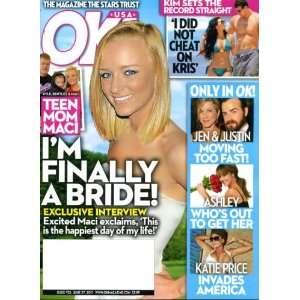 OK June 27 2011 Teen Mom Maci on Cover, Katie Price
