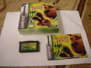 Scooby Doo 2 Monsters Unleashed (Game Boy Advance, 785138321523