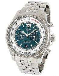 176B2 Targa 24 Pro Swiss Chrono Green Dial Bracelet Mens Watch