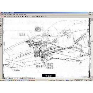 North American Aviation P 51 Aircraft Blueprints Engineering Drawings