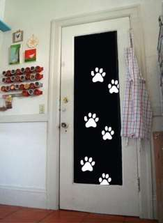 PAW PRINTS   Vinyl Wall Art Decals Stickers Murals