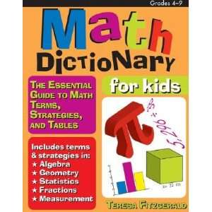 to Math Terms, Strategies, and Tables [MATH DICT FOR KIDS] Books