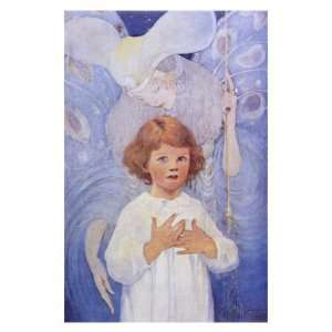Fairy Godmother Angel Giclee Poster Print by Jessie Willcox Smith
