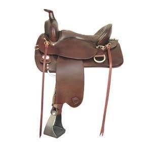 Tex Tan Hereford Eminence Trail Saddle   Regular Tree