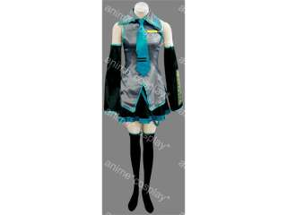 New Vocaloid Hatsune Miku Cosplay Costume