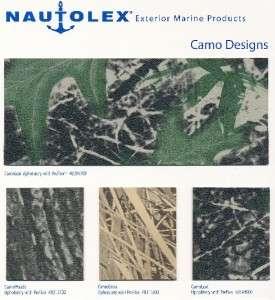Nautolex Camo Auto Marine Vinyl Upholstery Fabric